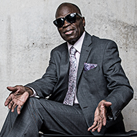 """""""THIS IS RAY CHARLES"""" starring MACEO PARKER & HIS BIG BAND featuring THE RAELETTES & STEVE SIGMUND conducting"""