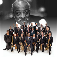 THE LEGENDARY COUNT BASIE ORCHESTRA  directed by SCOTTY BARNHART featuring CARMEN BRADFORD