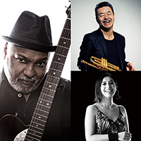 "Bluey from INCOGNITO presents ""CITRUS SUN"" with special guest  TERUMASA HINO (8.11 sat., 8.12 sun.),  MIHO FUKUHARA (8.9 thu., 8.10 fri.)"