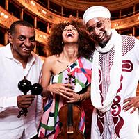 OMAR SOSA & YILIAN CANIZARES AGUAS Trio featuring GUSTAVO OVALLES