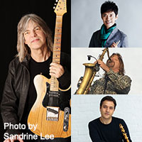 MIKE STERN BAND  featuring AKIRA JIMBO, DANNY WALSH & EDMOND GILMORE