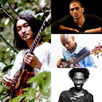"""YOSUKE ONUMA """"Jam Ka Quartet""""  featuring GREGORY PRIVAT, REGGIE WASHINGTON & SONNY TROUPE"""